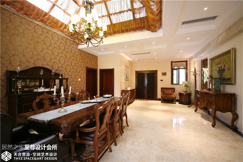 别墅 欧式 餐厅图片来自武汉天合营造设计在保利十二橡树古典欧式风的分享