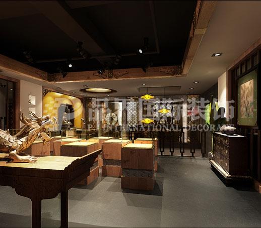 客厅图片来自石家庄品界国际装饰在会所设计的分享