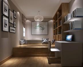 K2百合湾 高度国际 二居 现代 简约 公寓 白领 80后 高富帅 书房图片来自北京高度国际装饰设计在K2百合湾现代公寓助您夜观世界杯的分享
