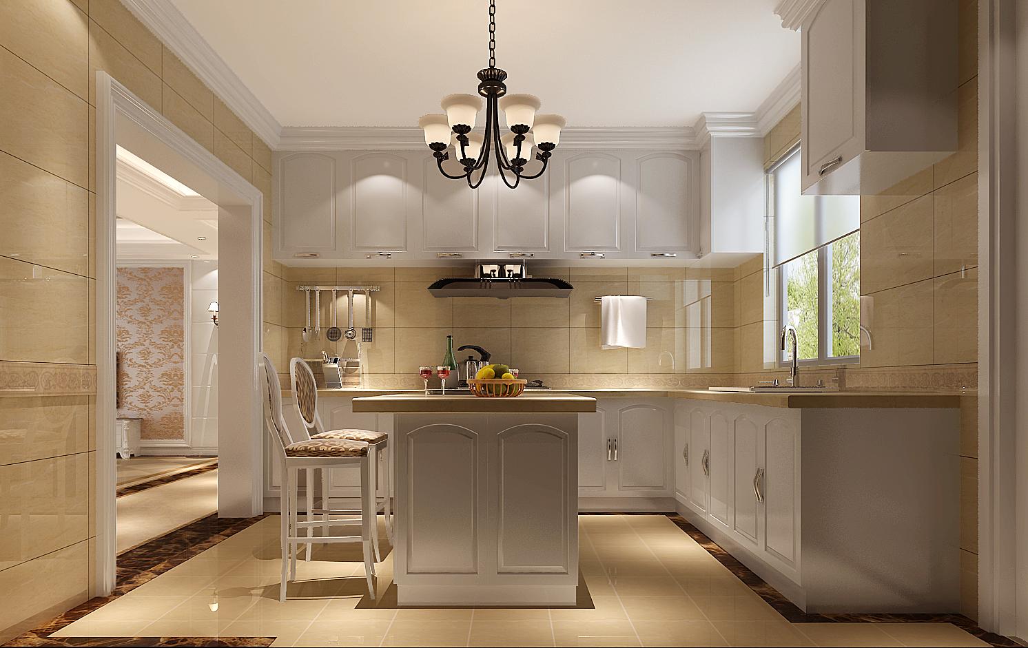 欧式 三居 白领 80后 北京装修 高度国际 厨房图片来自高度国际装饰华华在鲁能7号院欧式风格的分享