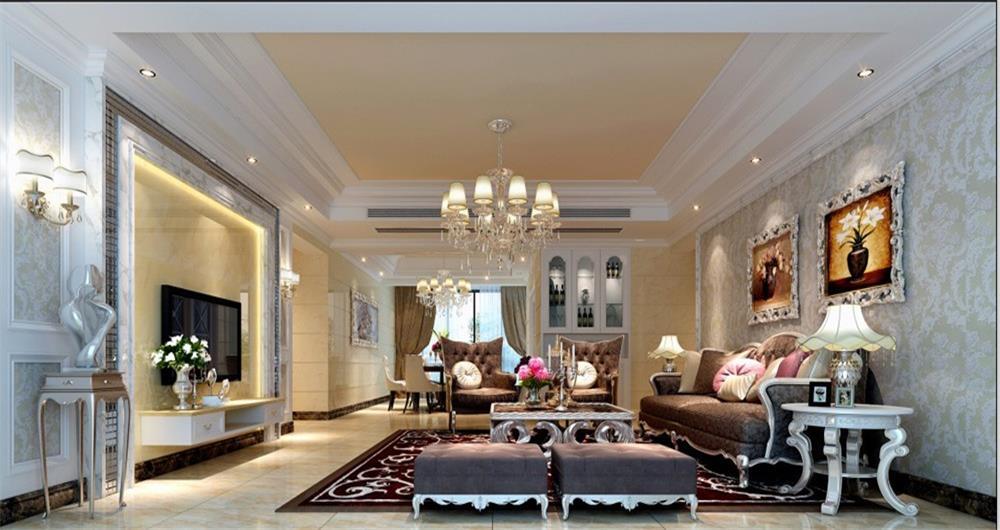 客厅图片来自深圳市浩天装饰在天和雅筑的分享