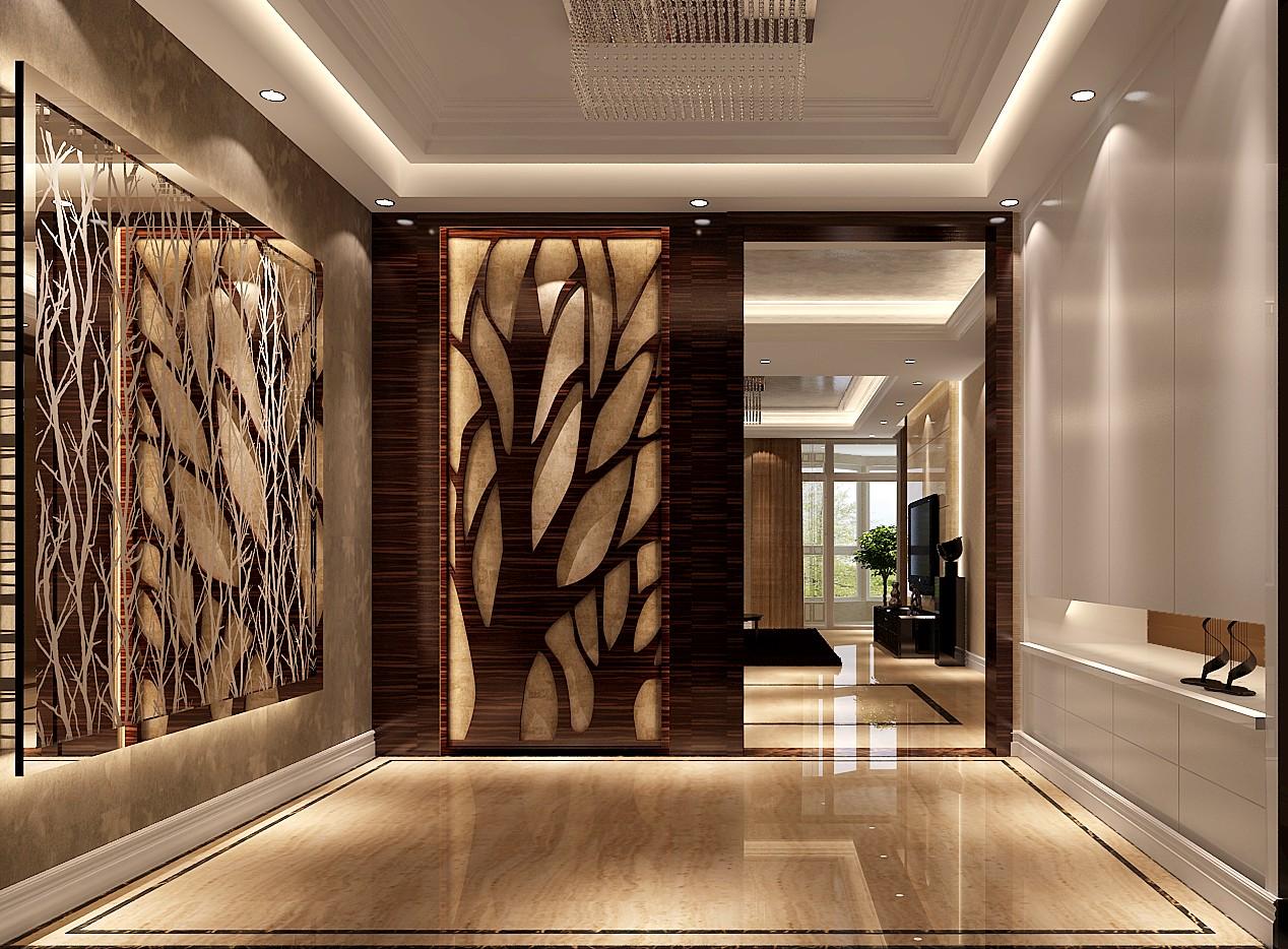 高度国际 御翠尚府 现代风格 公寓 玄关图片来自高度国际在高度国际-简约不简单的设计的分享