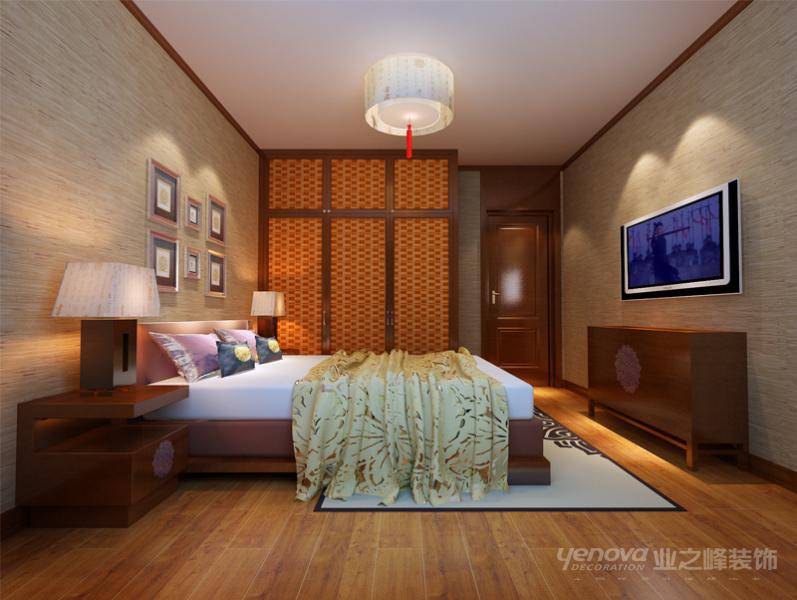 中式 古典 诗韵 二居 卧室图片来自北京业之峰郑州直营店在木兰亭,诠释中华涵韵的分享