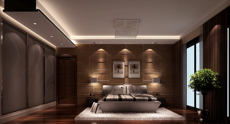 高度国际 御翠尚府 现代简约 公寓 卧室图片来自高度国际在高度国际-清新而不单调的分享