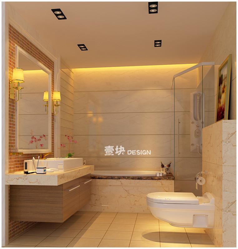 欧式 三居 白领 小资 卫生间图片来自用户3227078344在三湘海尚——品的分享