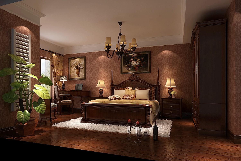 高度国际 御翠尚府 简欧 公寓 卧室图片来自高度国际在高度国际-190平米欧式风格的分享