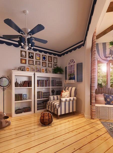 客厅效果图 地中海风格 蓝堡湾 卧室图片来自超凡装饰季国华在蓝堡湾装修效果图的分享