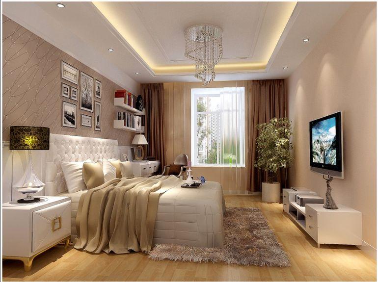 正商新蓝钻 简约 四居 白领 温馨 卧室图片来自北京业之峰郑州直营店在正商新蓝钻120平设计方案的分享