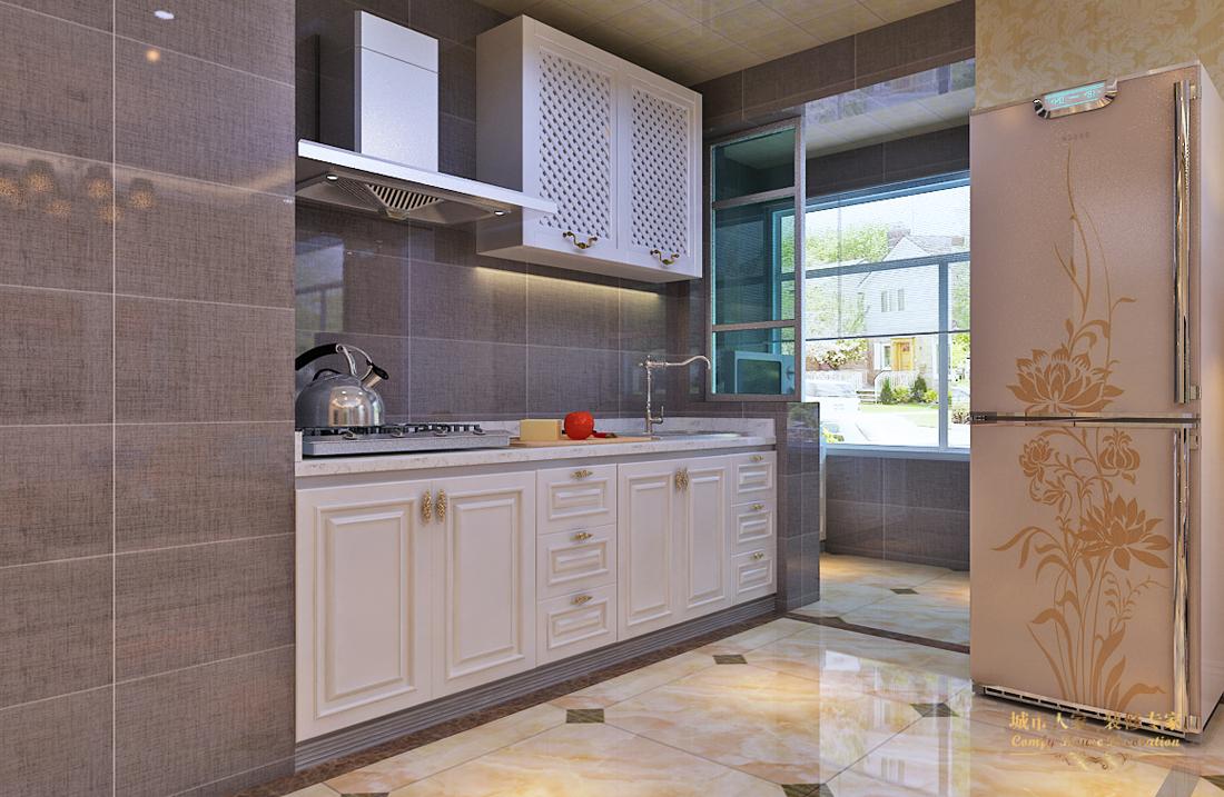 简约 做好的家装 设计案例 厨房图片来自太原城市人家装饰在圣湖观澜国际—110平米设计的分享