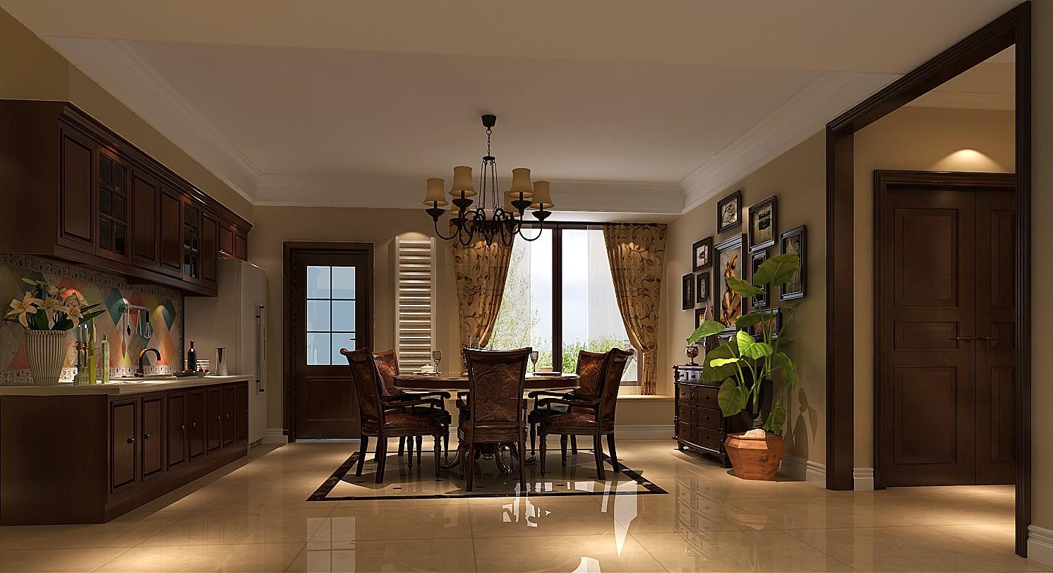 高度国际 御翠尚府 简欧 公寓 餐厅图片来自高度国际在高度国际-190平米欧式风格的分享