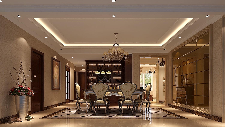高度国际 御翠尚府 欧式风格 公寓 厨房图片来自高度国际在高度国际-240平米欧式风格的分享