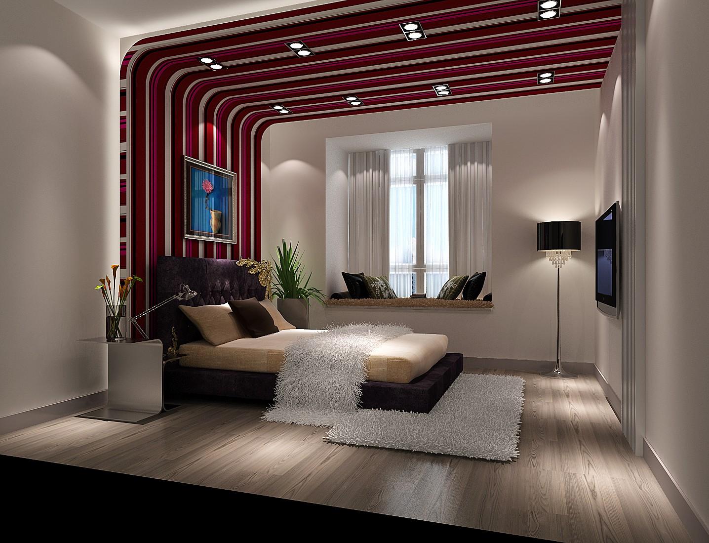 现代 二居 小资 80后 北京装修 高度国际 装修报价 卧室图片来自高度国际装饰华华在中景江山赋现代设计的分享