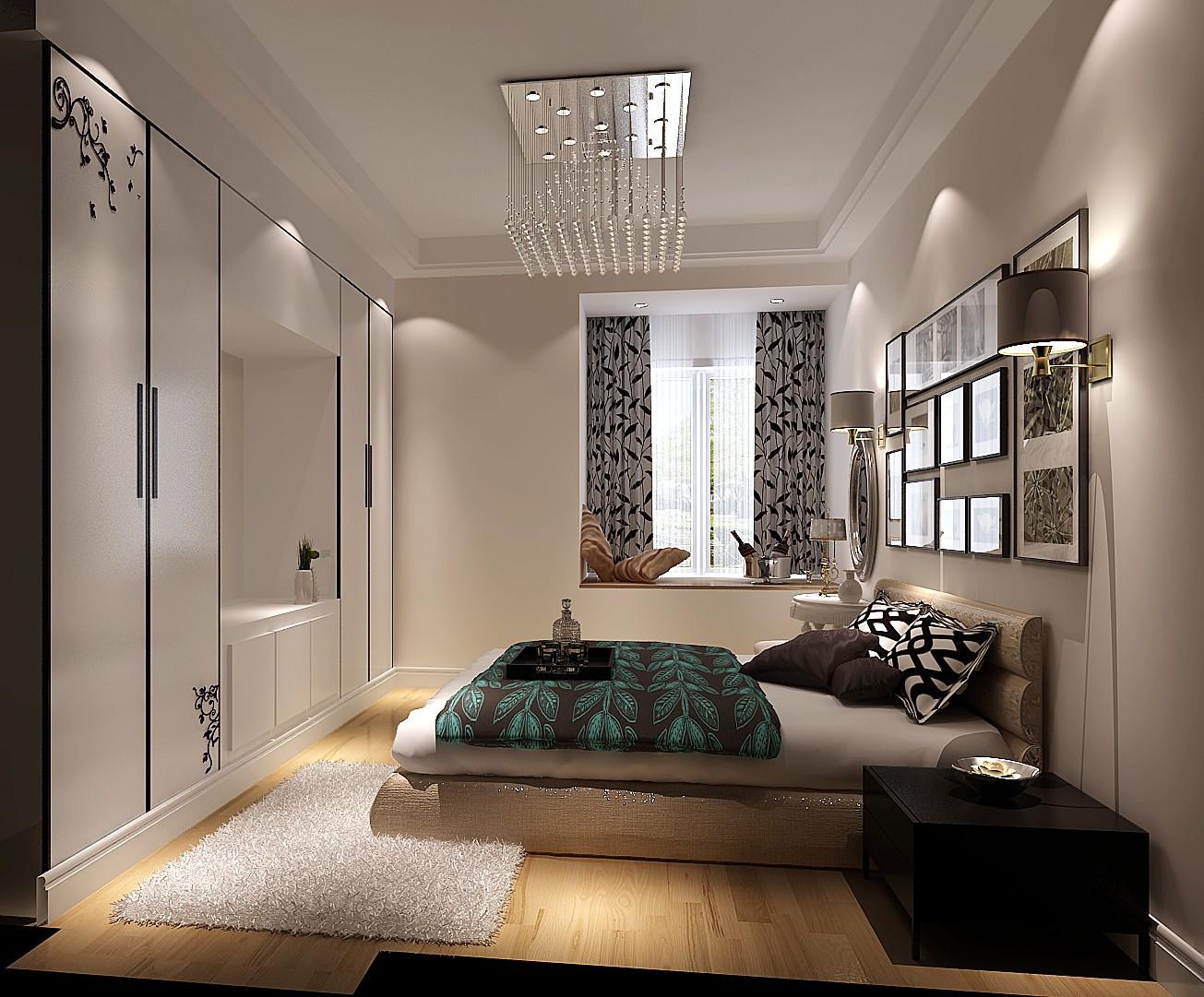 高度国际 江南山水 卧室图片来自凌军在【江南山水】60平米一居室的分享