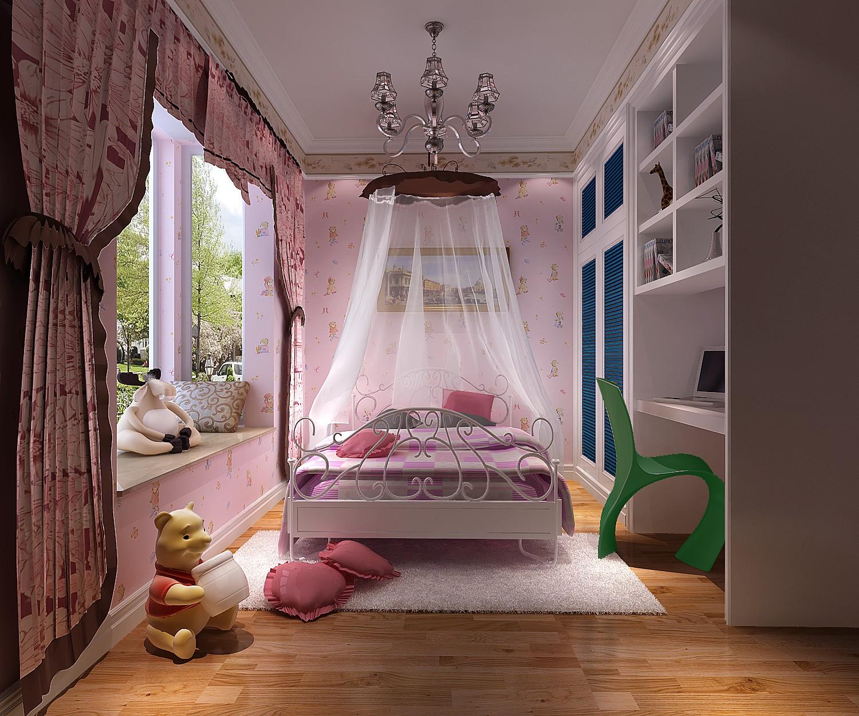 高度国际 御翠尚府 欧式风格 公寓 儿童房图片来自高度国际在高度国际-合理安排老人及儿童的分享