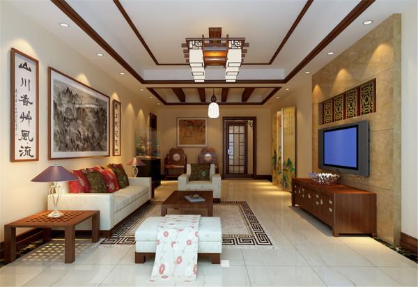 居室:居室在色彩方面秉承了传统古典风格的典雅和华贵,但与之不同的是加入了很多现代元素,呈现着时尚的特征。