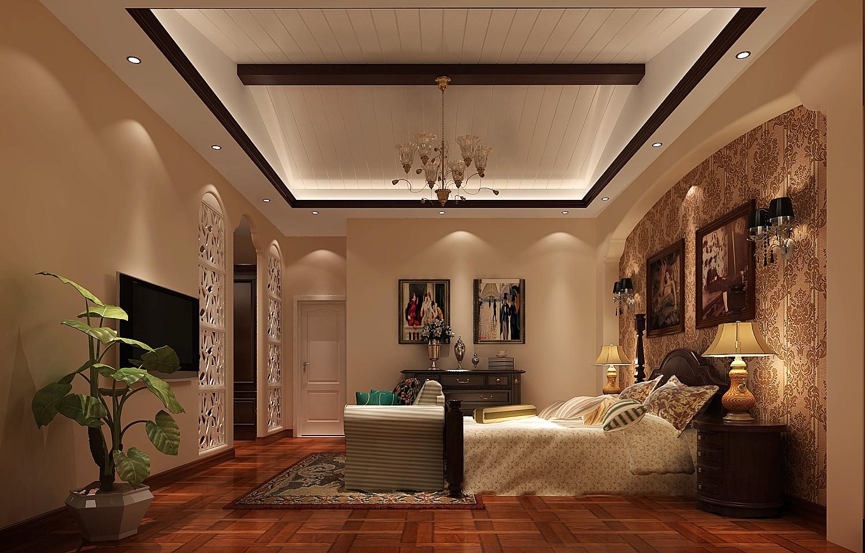 托斯卡纳 别墅 卧室图片来自高度国际装饰黄帅在古朴稳重,大气恢弘的分享