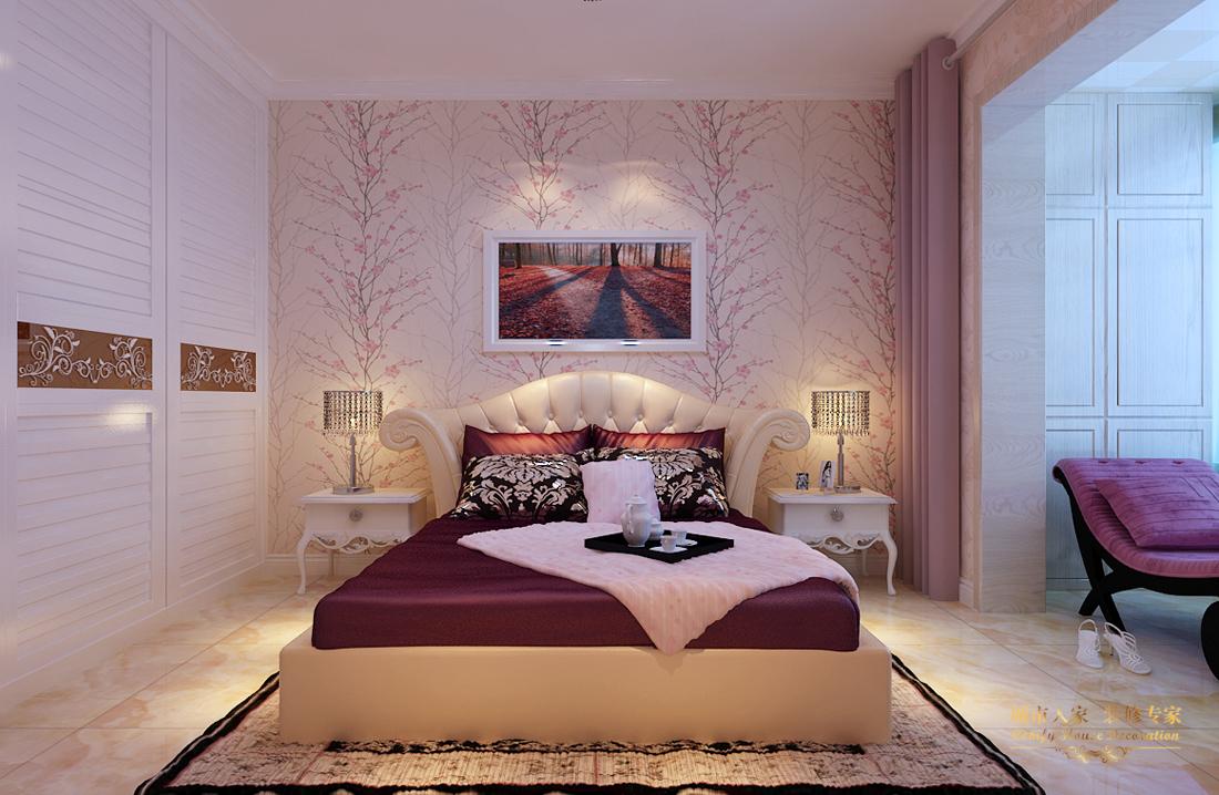 简约 做好的家装 设计案例 卧室图片来自太原城市人家装饰在圣湖观澜国际—110平米设计的分享
