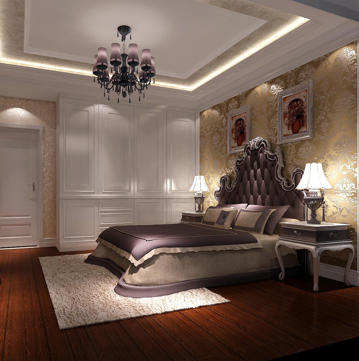欧式 三居 小资 80后 北京装修 高度国际 装修报价 卧室图片来自高度国际装饰华华在M5郎峰欧式风格的分享