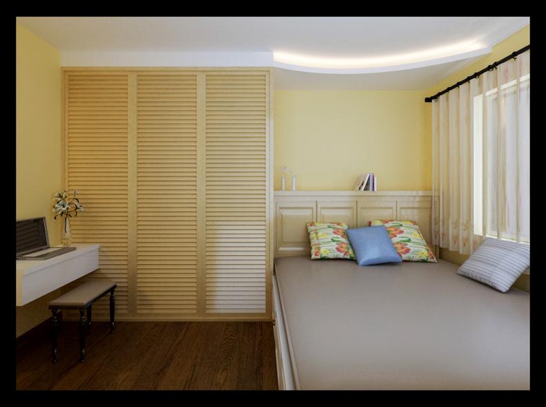 卧室图片来自今朝装饰小闫在八宝山的分享