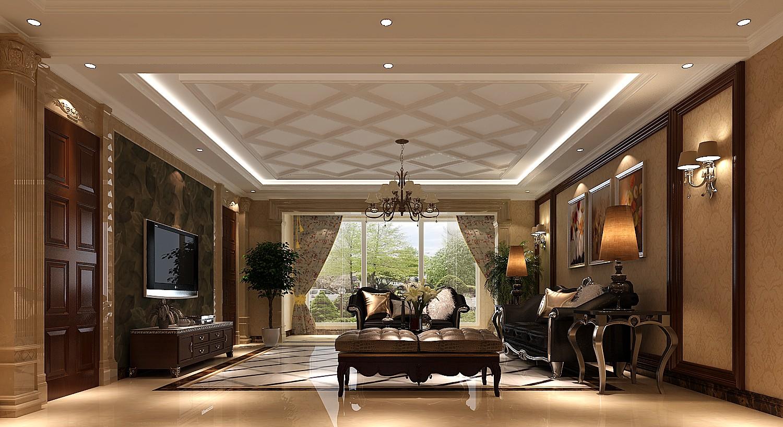 高度国际 御翠尚府 欧式风格 公寓 客厅图片来自高度国际在高度国际-合理安排老人及儿童的分享