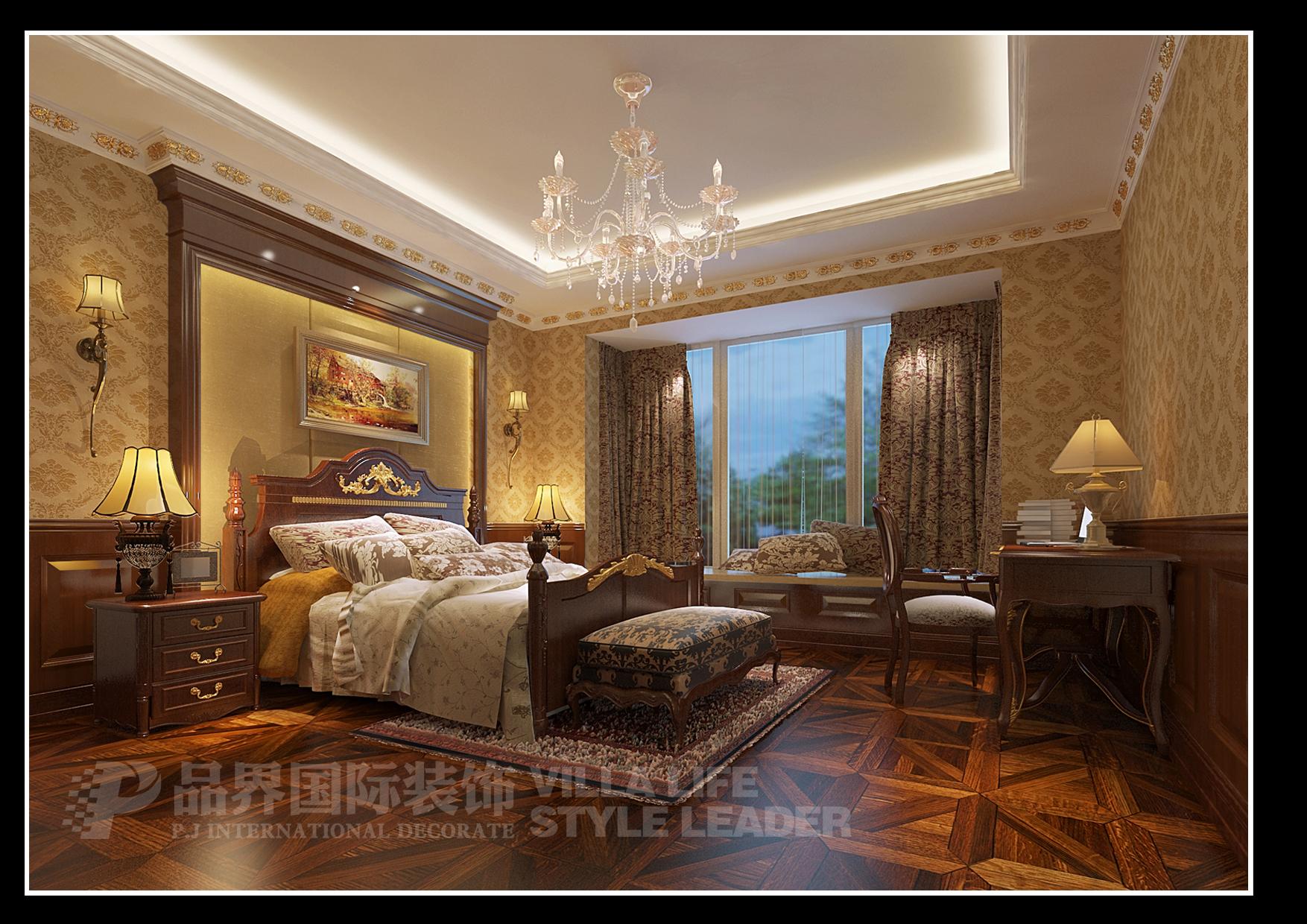 客厅图片来自石家庄品界国际装饰在恒大华府欧式风格装修的分享