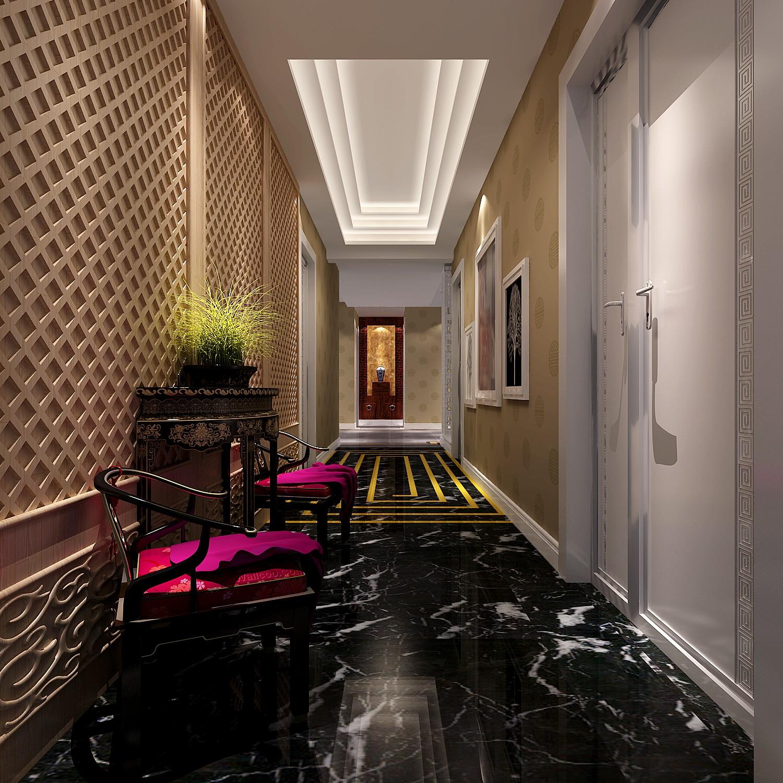高度国际 御翠尚府 混搭 公寓 玄关图片来自高度国际在高度国际-御翠尚府的分享