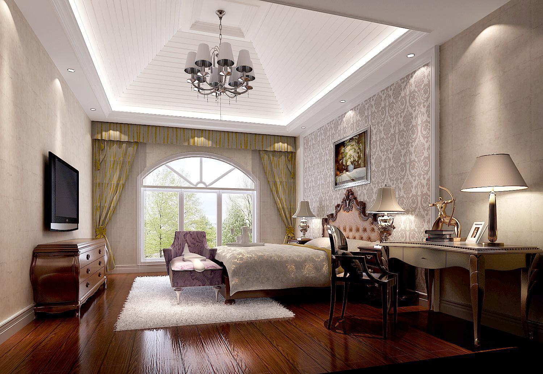 简约 欧式 三居 北京装修 装修报价 高度国际 卧室图片来自高度国际装饰华华在鲁能7号院简欧风格案例的分享