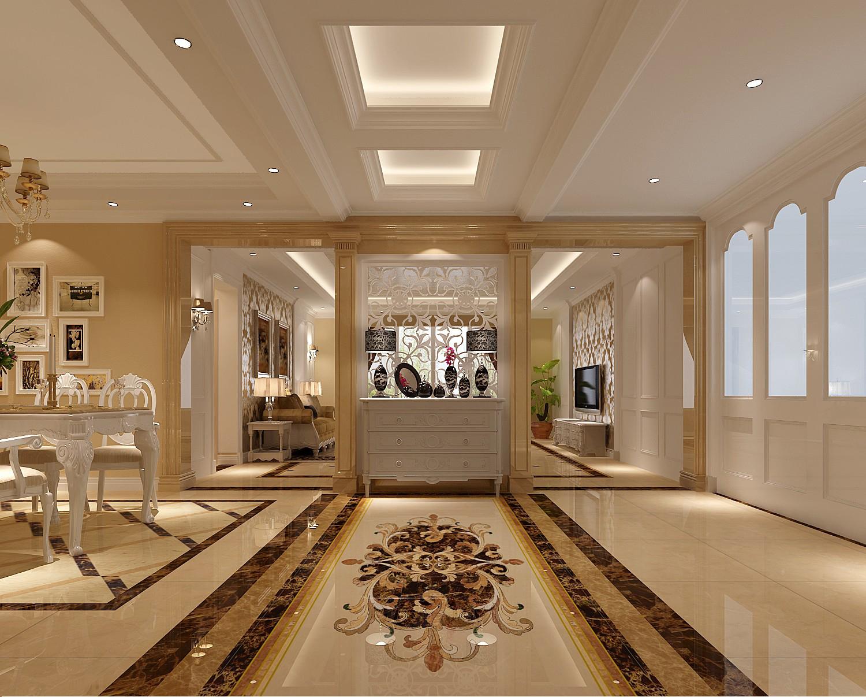 欧式 三居 白领 北京装修 高度国际 装修报价 玄关图片来自高度国际装饰华华在旭辉御府欧式设计的分享