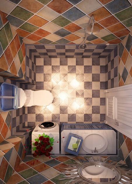 卫生间 地中海风格 蓝堡湾 卫生间图片来自超凡装饰季国华在蓝堡湾装修效果图的分享