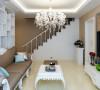 淡淡的卡其色墙漆,配上白色的硬装,在搭配暖色的软装,让整个空间温馨感十足。