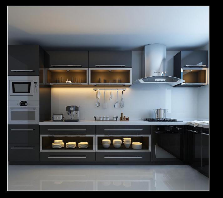 简约 80后 白领 别墅 厨房图片来自159xxxx8729在财经学院190平简约风的分享