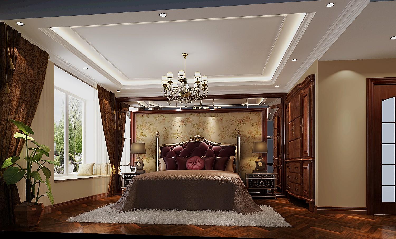 高度国际 御翠尚府 欧式风格 公寓 卧室图片来自高度国际在高度国际-240平米欧式风格的分享