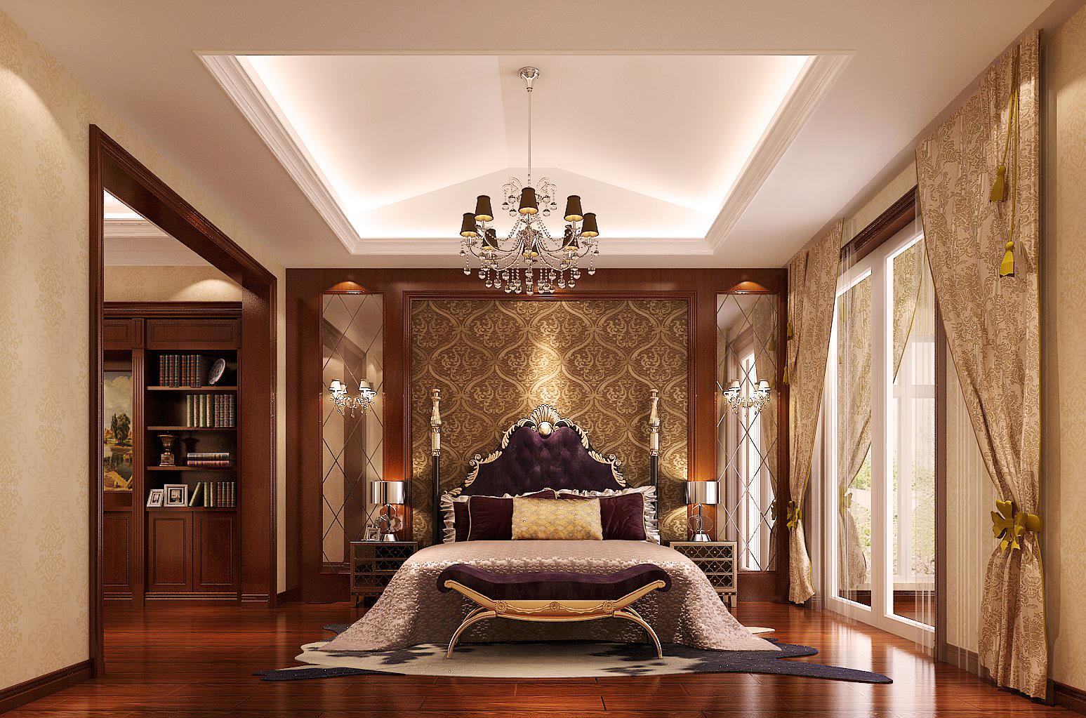 简约 欧式 中式 混搭 卧室图片来自高度国际装饰黄帅在都说标题长才会有人看的分享