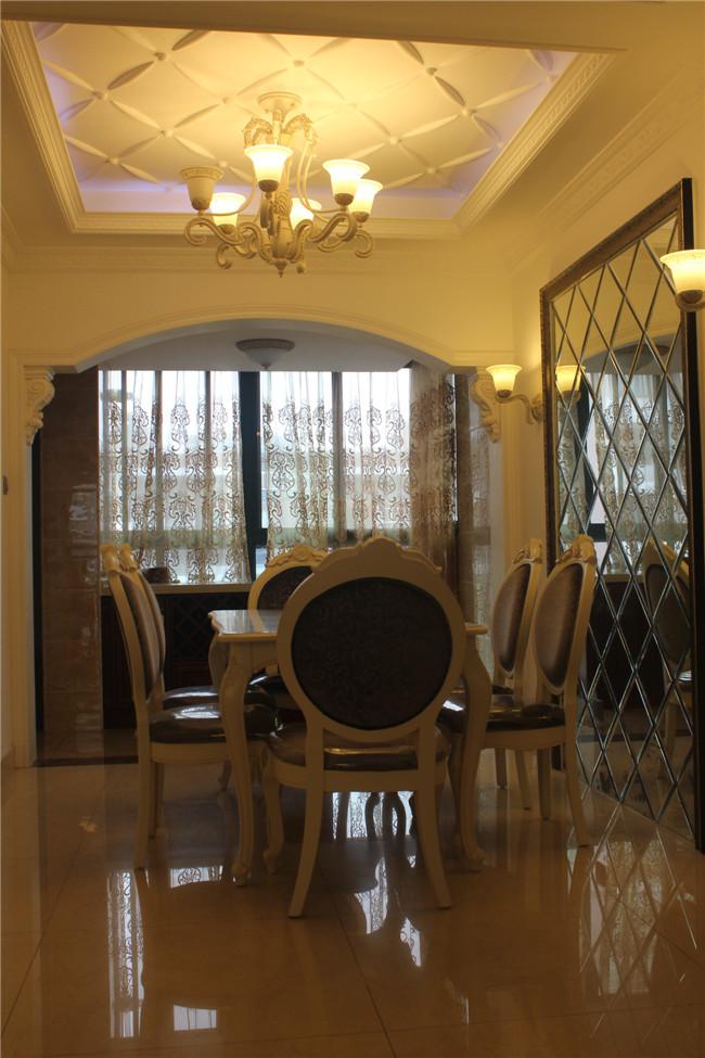 三居 欧式 餐厅图片来自成都金煌装饰在简欧风格的空间美学的分享