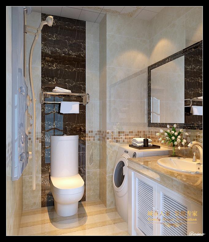 城市人家 太原装修 设计风格 新古典 卫生间图片来自太原城市人家装饰在东唐花园—145平米设计的分享