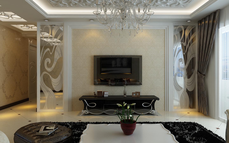 现代 三居 小资 客厅图片来自百家设计小刘在纳帕名门122平米 现代风格 3.7万的分享