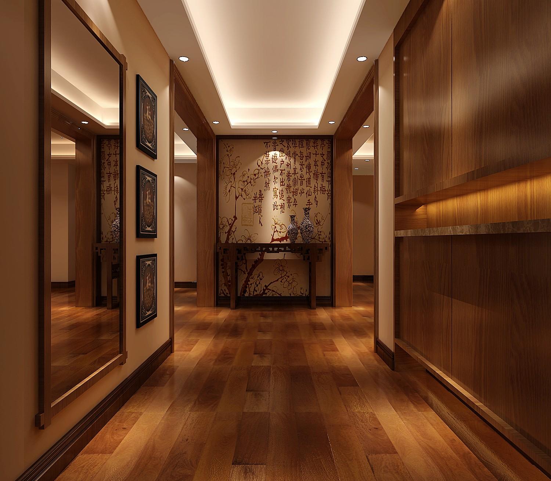 新中式 四居 白领 公寓 北京装修 高度国际 装修报价 玄关图片来自高度国际装饰华华在军区大院的新中式设计的分享