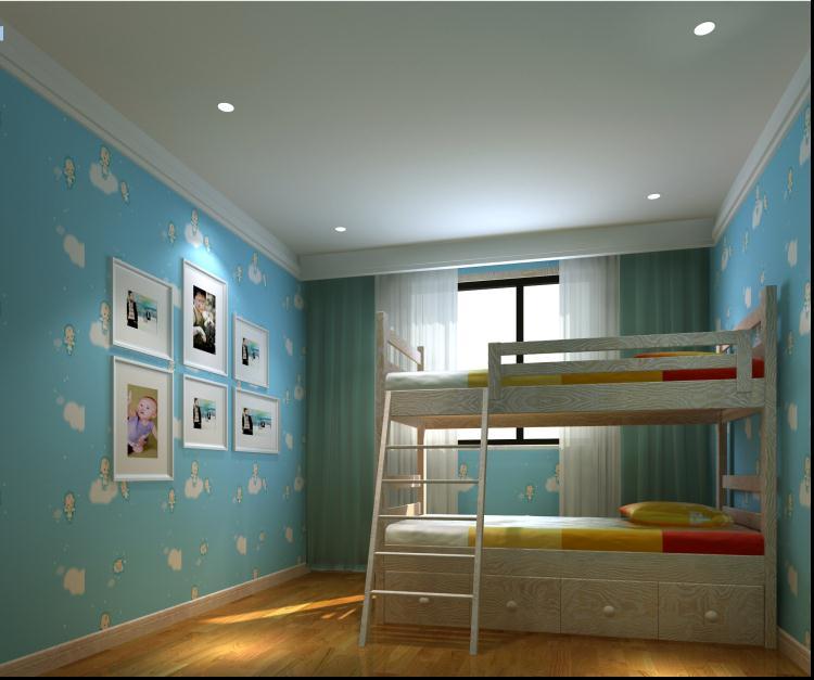 简约 80后 白领 别墅 儿童房图片来自159xxxx8729在财经学院190平简约风的分享