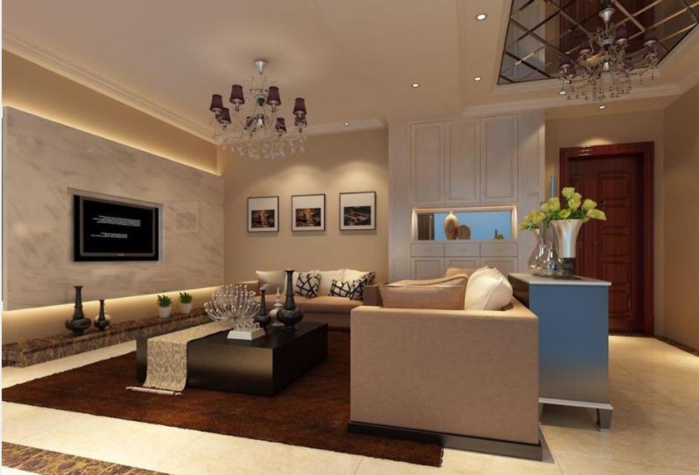 客厅图片来自深圳市浩天装饰在天安龙园的分享