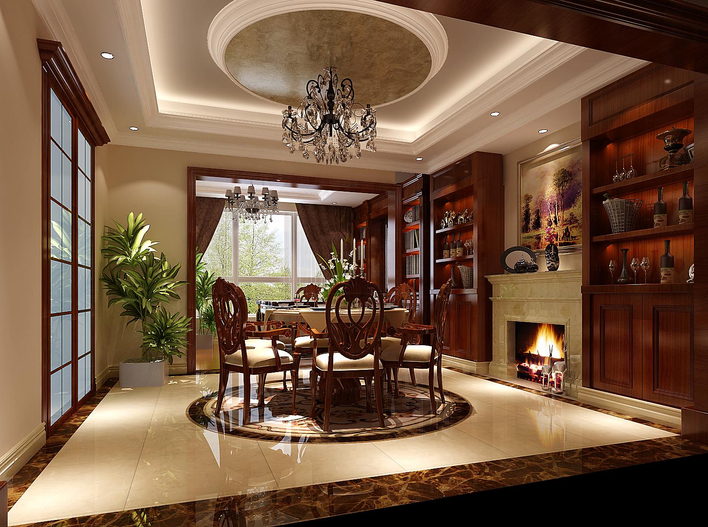 欧式 三居 白领 80后 北京装修 高度国际 餐厅图片来自高度国际装饰华华在旭辉御府的分享