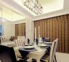 天津装修公司——尚层装饰餐厅效果图