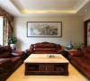 并不追求华丽、高雅的美式简约风格。居室色彩主调为温和色。家具为古典弯腿式,家具、门、窗漆成白色。