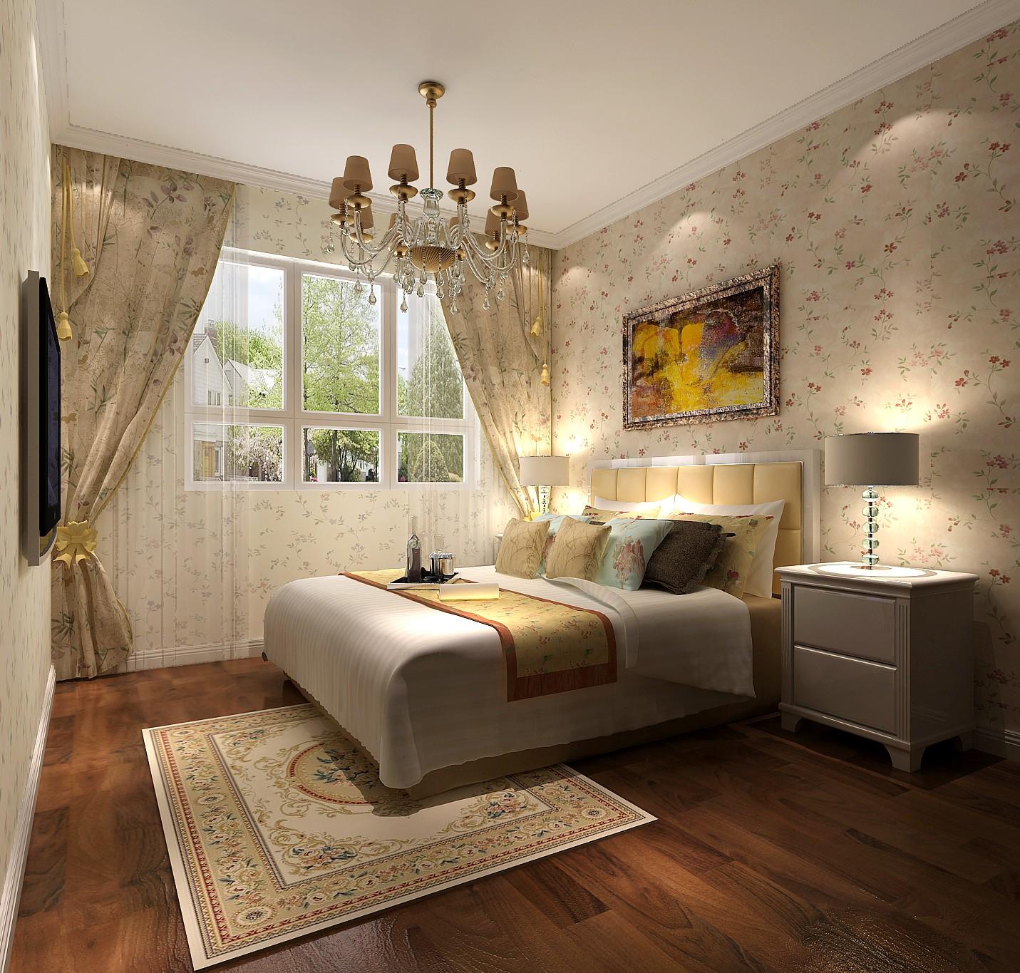 欧式 三居 白领 80后 北京装修 高度国际 卧室图片来自高度国际装饰华华在鲁能7号院欧式风格的分享
