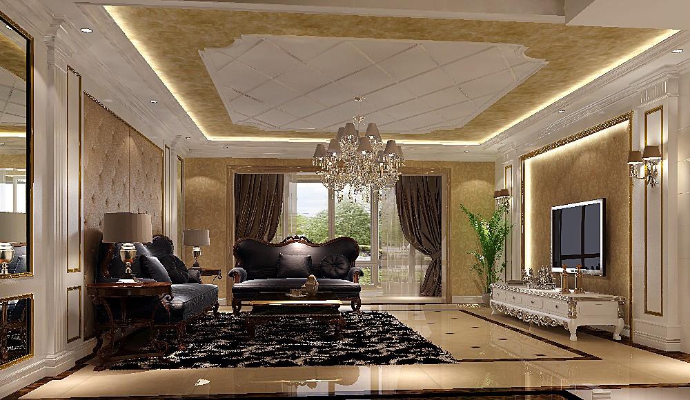 欧式 四居 平层 北京装修 高度国际 白领 小资 客厅图片来自高度国际装饰华华在华侨城欧式设计的分享