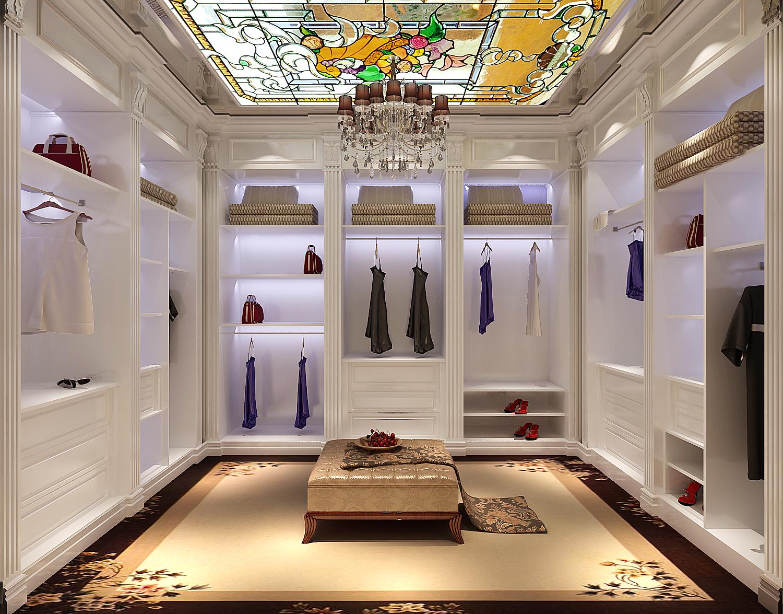 欧式 三居 白领 80后 北京装修 高度国际 衣帽间图片来自高度国际装饰华华在鲁能7号院欧式风格的分享