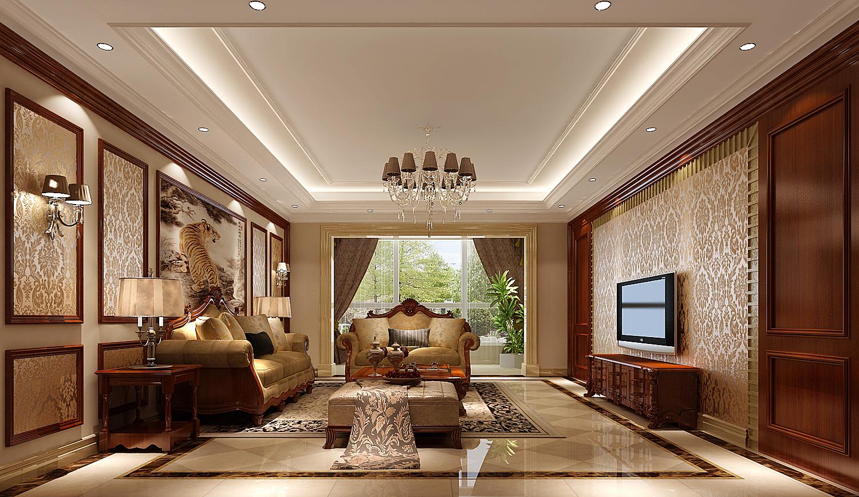 欧式 三居 白领 80后 北京装修 高度国际 客厅图片来自高度国际装饰华华在旭辉御府的分享