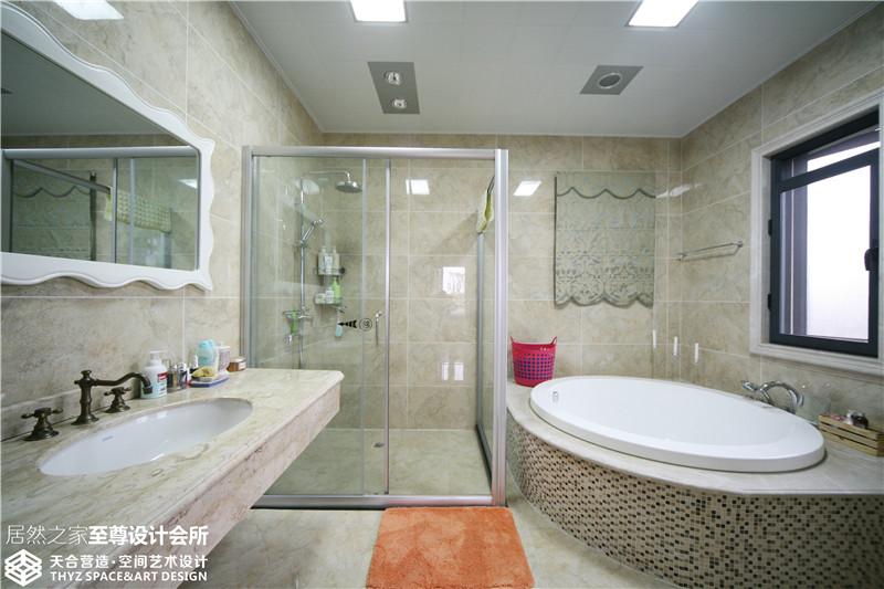 别墅 欧式 卫生间图片来自武汉天合营造设计在保利十二橡树古典欧式风的分享