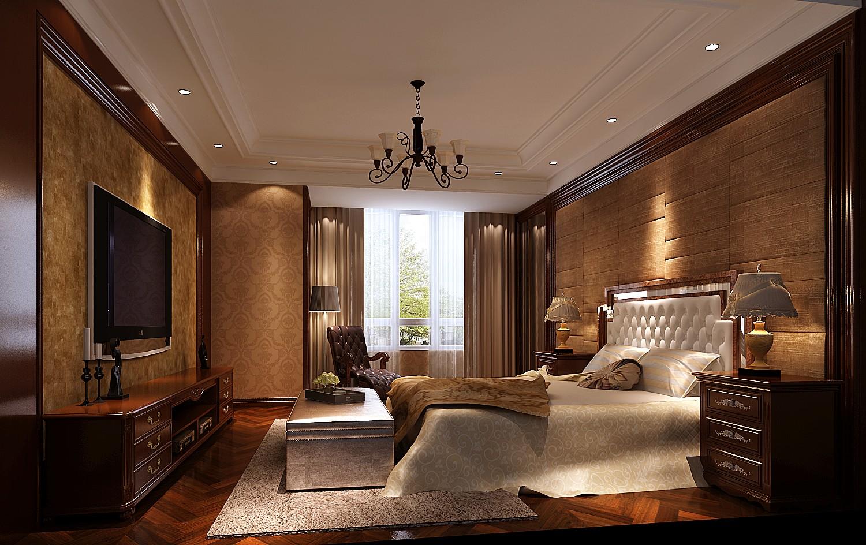 高度国际 御翠尚府 欧式 公寓 卧室图片来自高度国际在高度国际-为中年夫妇量身设计的分享