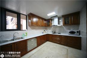 美式 混搭 清新 舒适 厨房图片来自武汉天合营造设计在东湖春树里200平美式混搭的分享