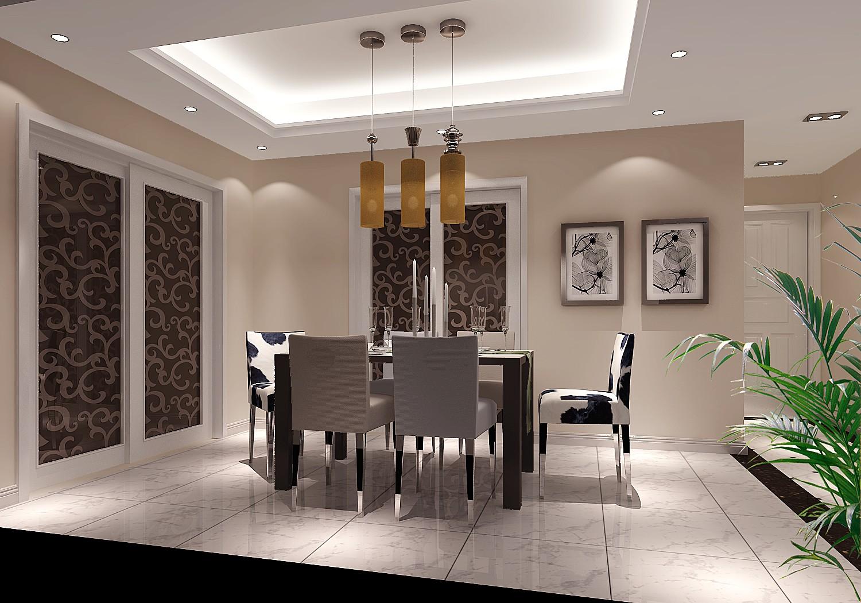 福熙大道 高度国际 简约 现代 三居 白领 80后 高富帅 白富美 餐厅图片来自北京高度国际装饰设计在天润福熙大道的分享